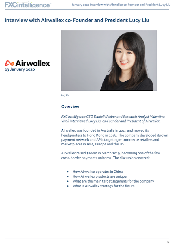 Airwallex future strategy interview with co-founder Lucy Liu