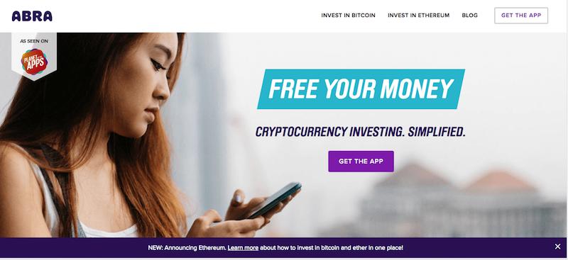 Abra Bitcoin trading