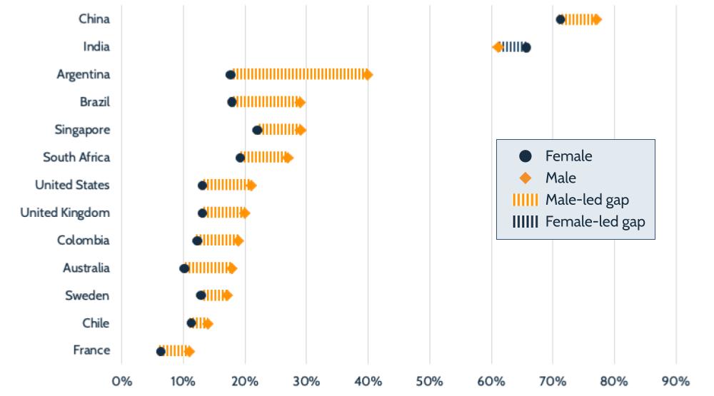 fintech payments gender gap