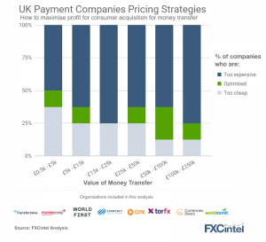 Payment company optimal pricing